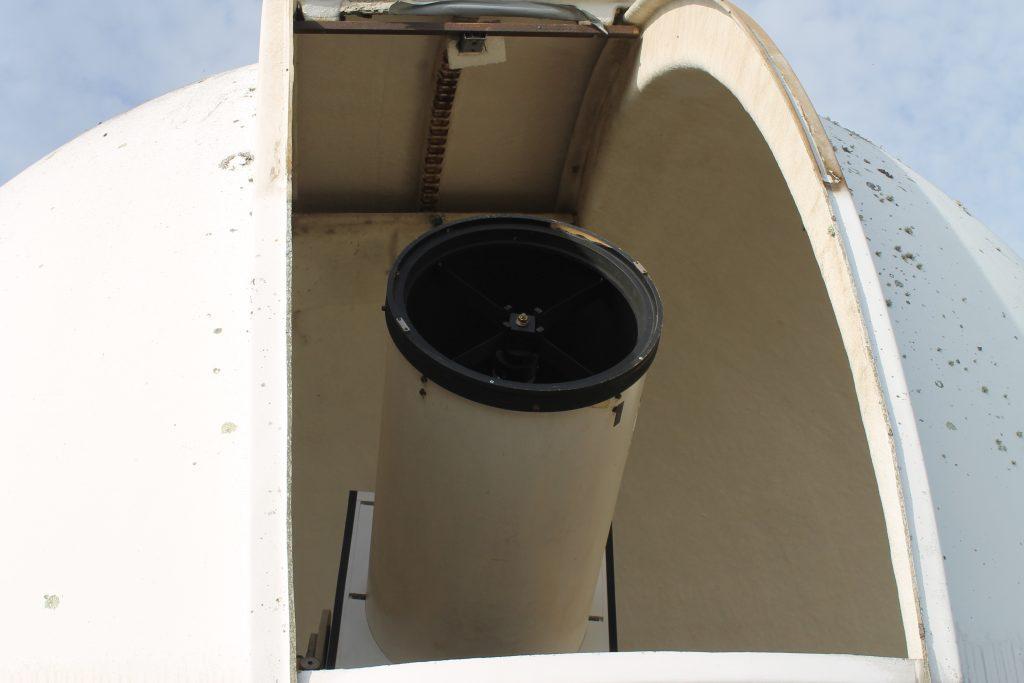 telescope 400 mm sous la coupole