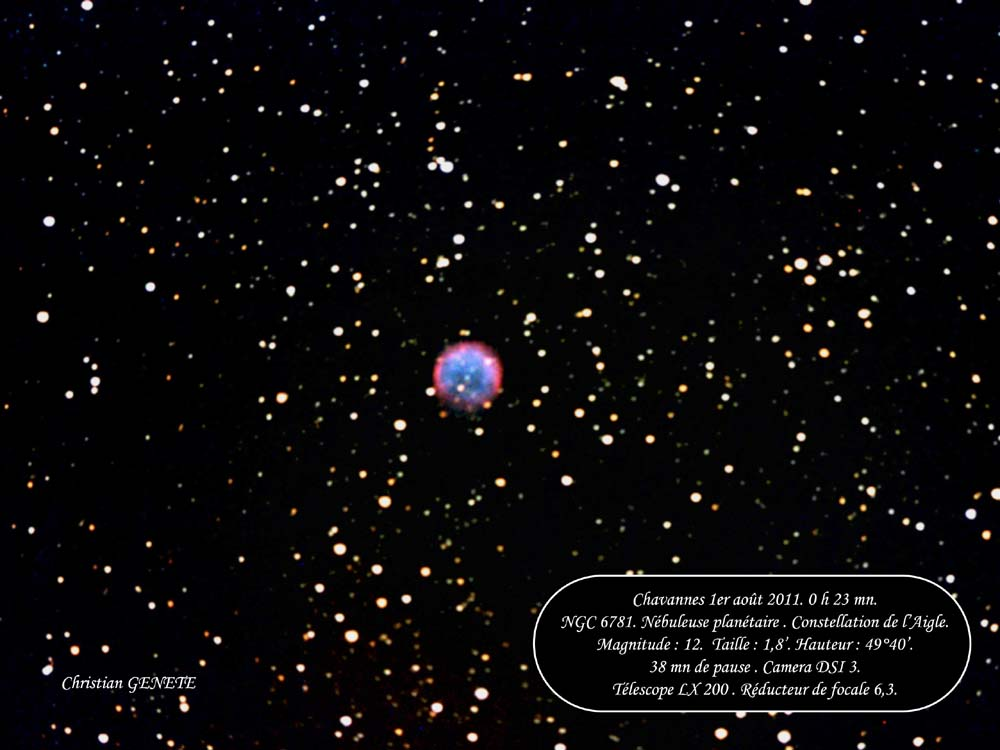 "NGC 6781 ""Christian GENETE"""