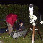 Soirées astro sur le site d'Arcay