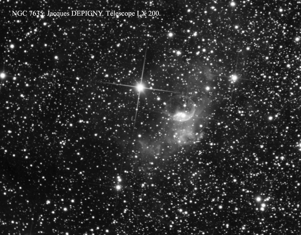 "NGC 7635 ""Jacques Depigny"""