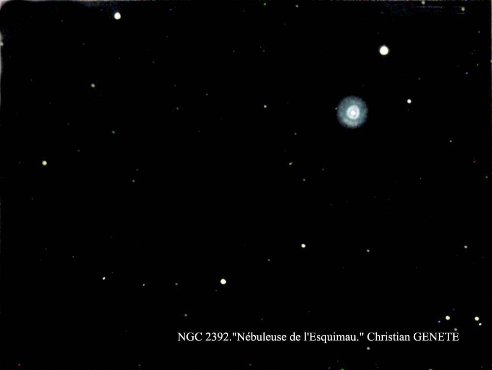 "NGC 2392 ""Christian GENETE"""