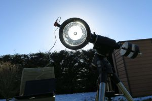 Télescope solaire