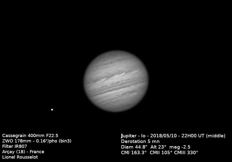 Jupiter 2018/05/10 22h00