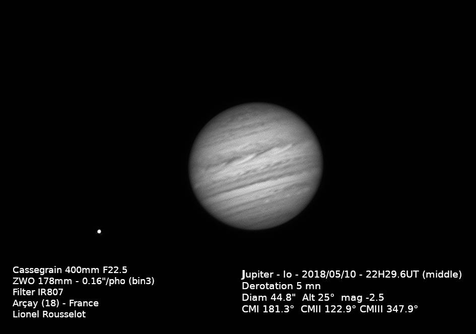 Jupiter 2018/05/10 22h30